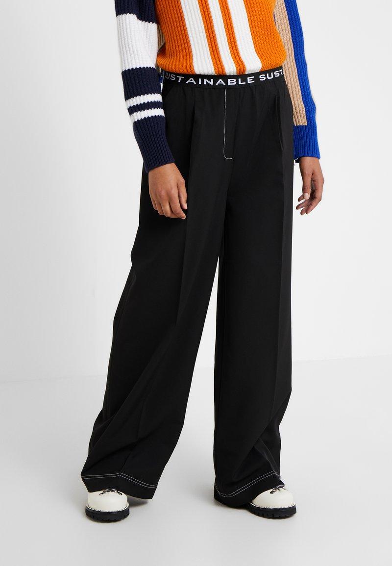 DESIGNERS REMIX - VERONIQUE PANTS - Trousers - black