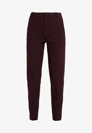 IVANA SUIT - Trousers - rouge noir