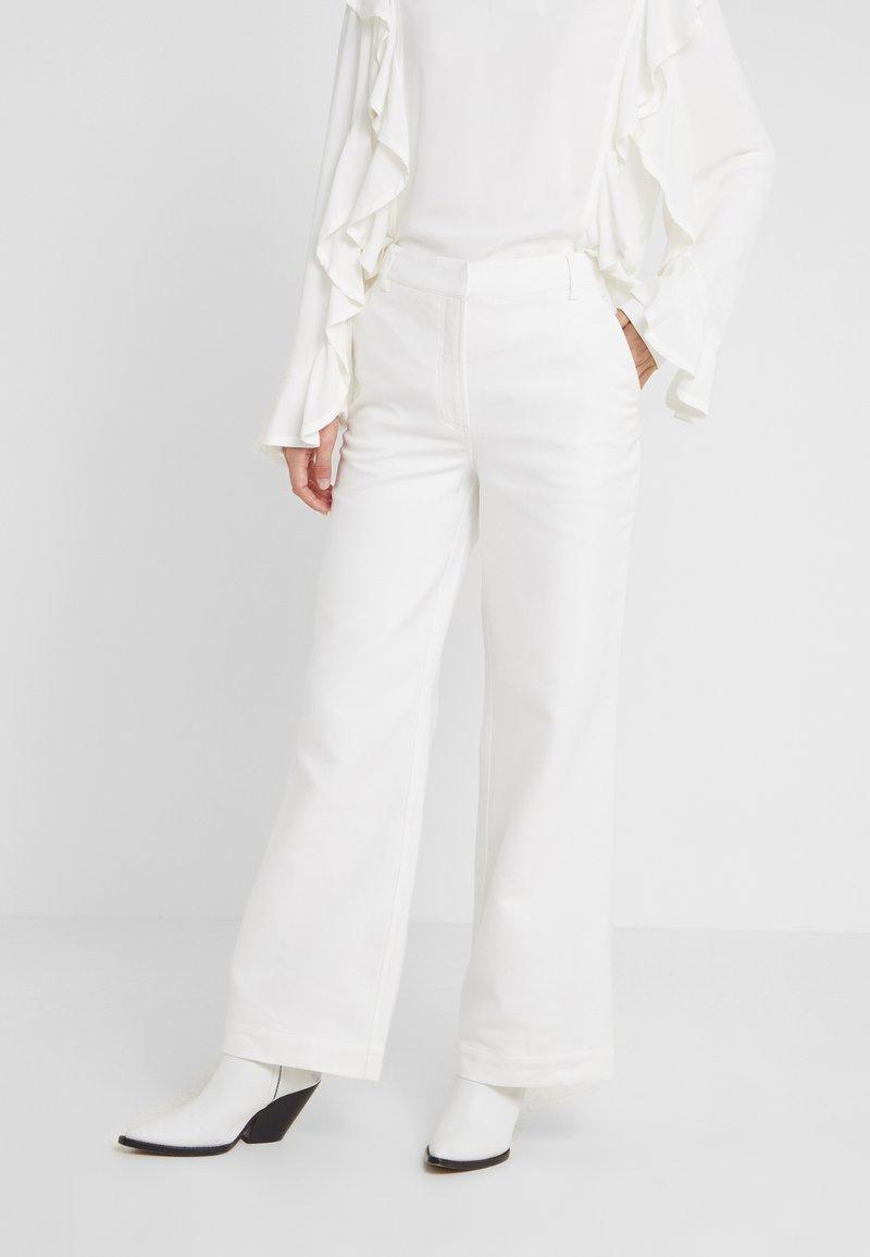 DESIGNERS REMIX - LETTA PANTS - Trousers - cream