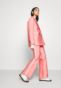 DESIGNERS REMIX - HAILEY FLARE - Trousers - pink - 1