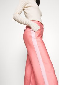 DESIGNERS REMIX - HAILEY FLARE - Trousers - pink - 4
