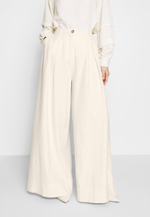 ABBY PANTS - Trousers - cream