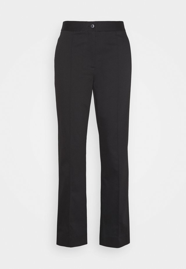 SANSAH FLARED - Trousers - black