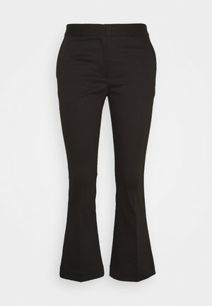 SANSAH CROPPED - Bukser - black