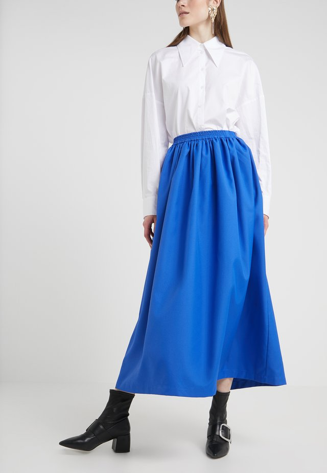 MILLER SKIRT - A-line skirt - blue