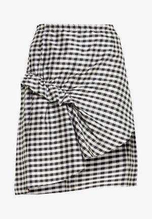 ALEXIS SKIRT - A-line skirt - black/white