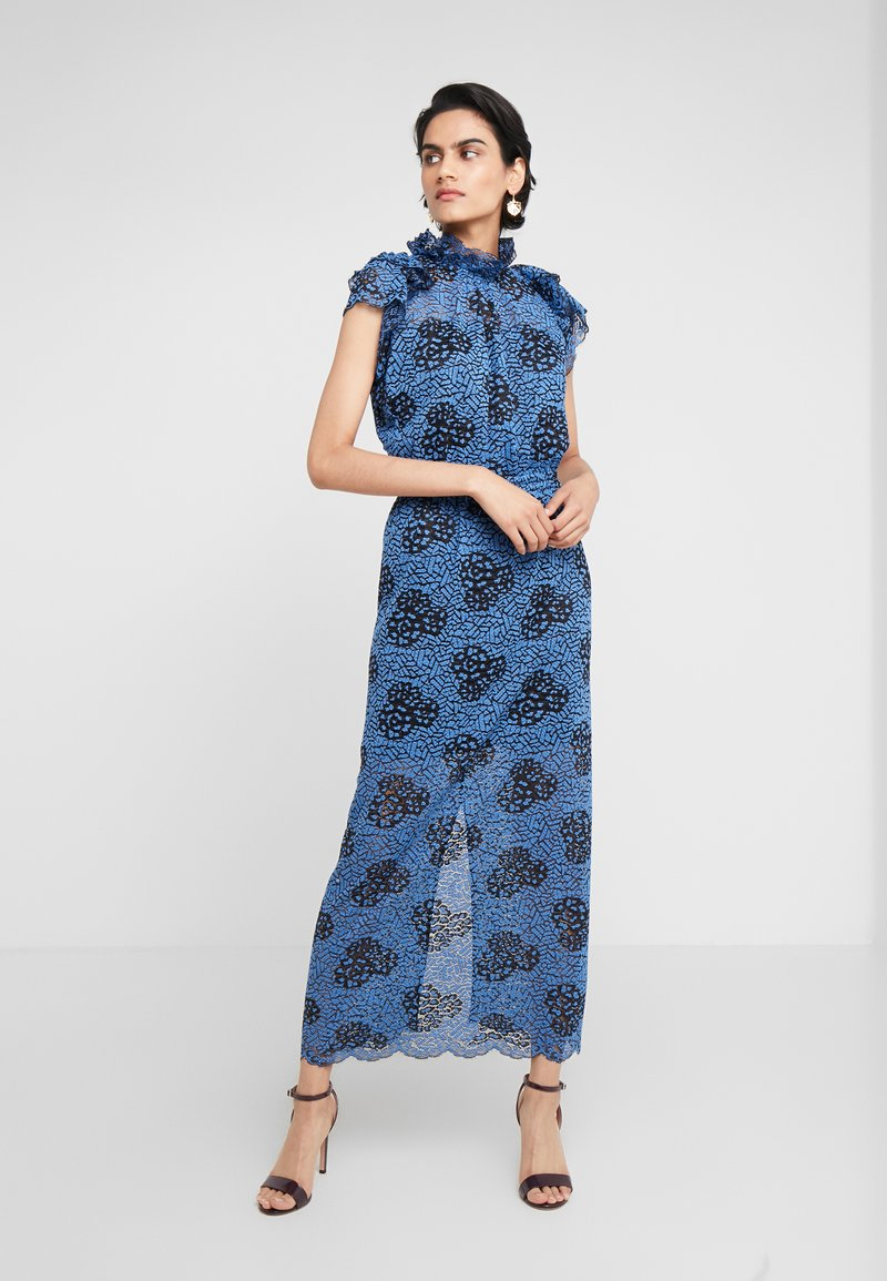 DESIGNERS REMIX - VERONICA - Maxi dress - blue