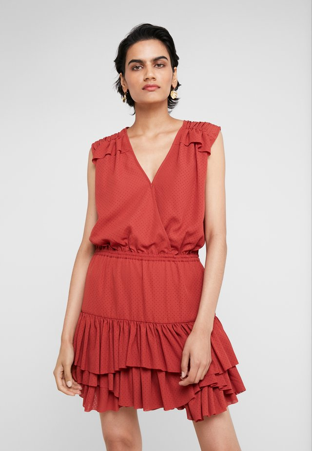 BYRON SUMMER - Freizeitkleid - ox blood