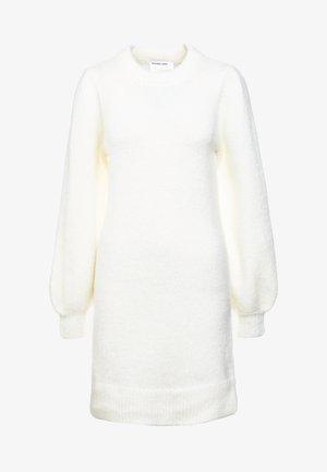 CARESS SLEEVE DRESS - Vestido de punto - creme