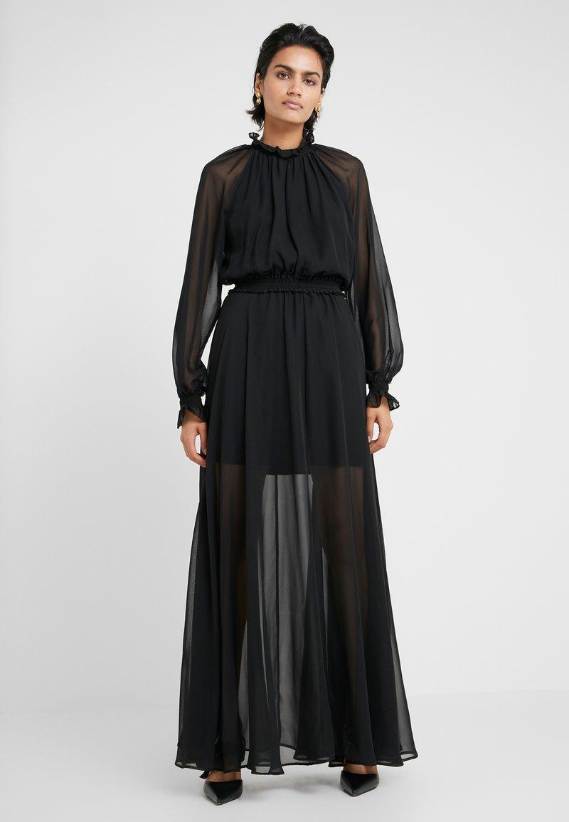 DESIGNERS REMIX - TRUNTE SHOW DRESS - Maxi dress - black
