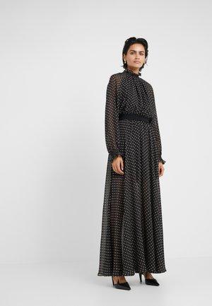 TRUNTE SHOW DRESS - Vestito lungo - black beige
