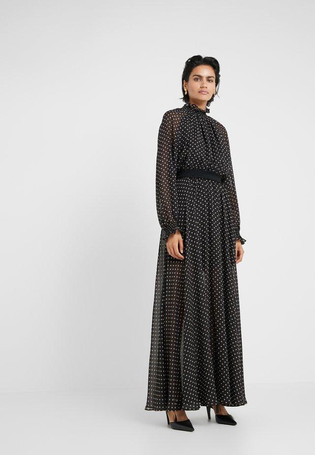 TRUNTE SHOW DRESS - Maxi-jurk - black beige