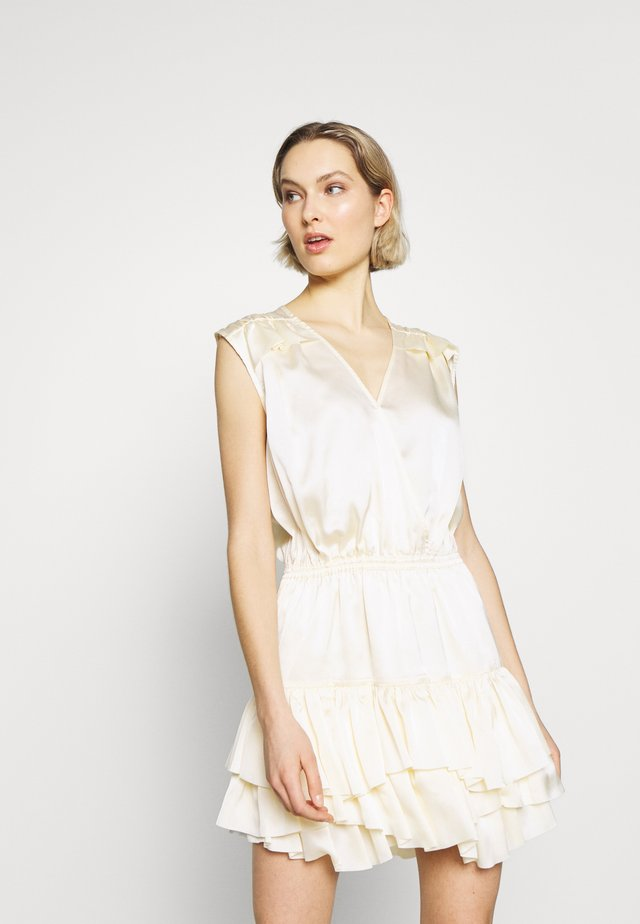 LAUREN SUMMER - Cocktailjurk - cream