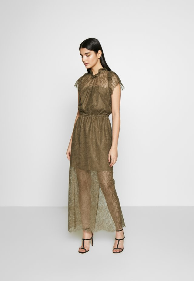 VANESSA LONG DRESS - Occasion wear - khaki