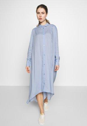 AYONESS LONG SHIRT - Shirt dress - light blue