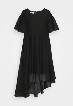 SONIA VOLUME DRESS - Abito da sera - black