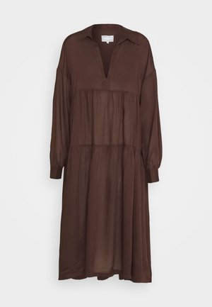 AYONESS DRESS - Sukienka letnia - chocolate