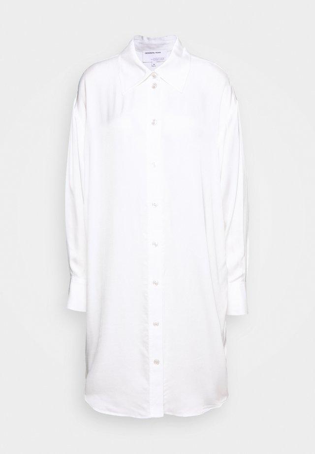 MEA COLLAR DRESS - Skjortklänning - cream