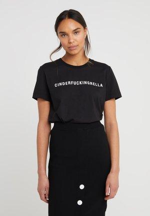 STANLEY STATEMENT - T-shirts med print - black