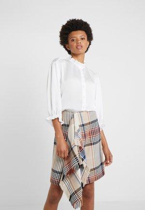 ELDA RUFFLE SHIRT - Camicia - cream