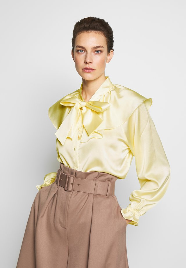 LAUREN BLOUSE - Button-down blouse - cream