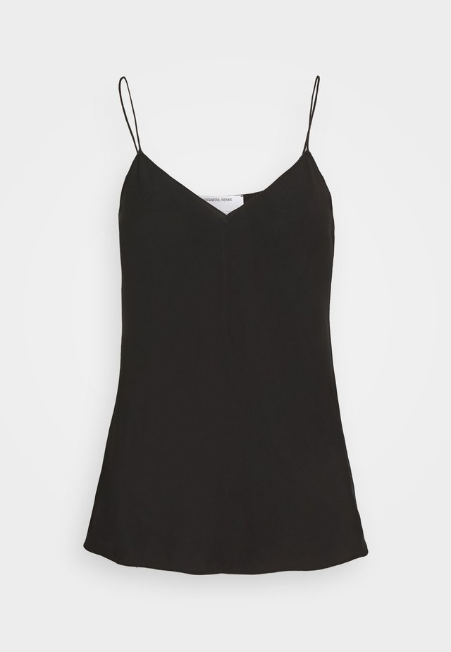 VALERIE CAMISOLE - Top - black