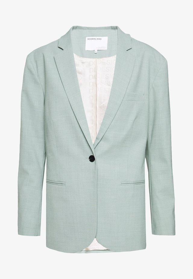 MARLEY WAIST - Krótki płaszcz - light dusty green