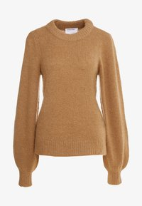 DESIGNERS REMIX - CARESS SLEEVE - Pullover - camel - 4