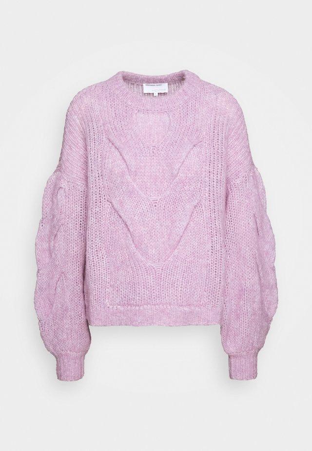 ANTICO CABLE - Stickad tröja - lavender