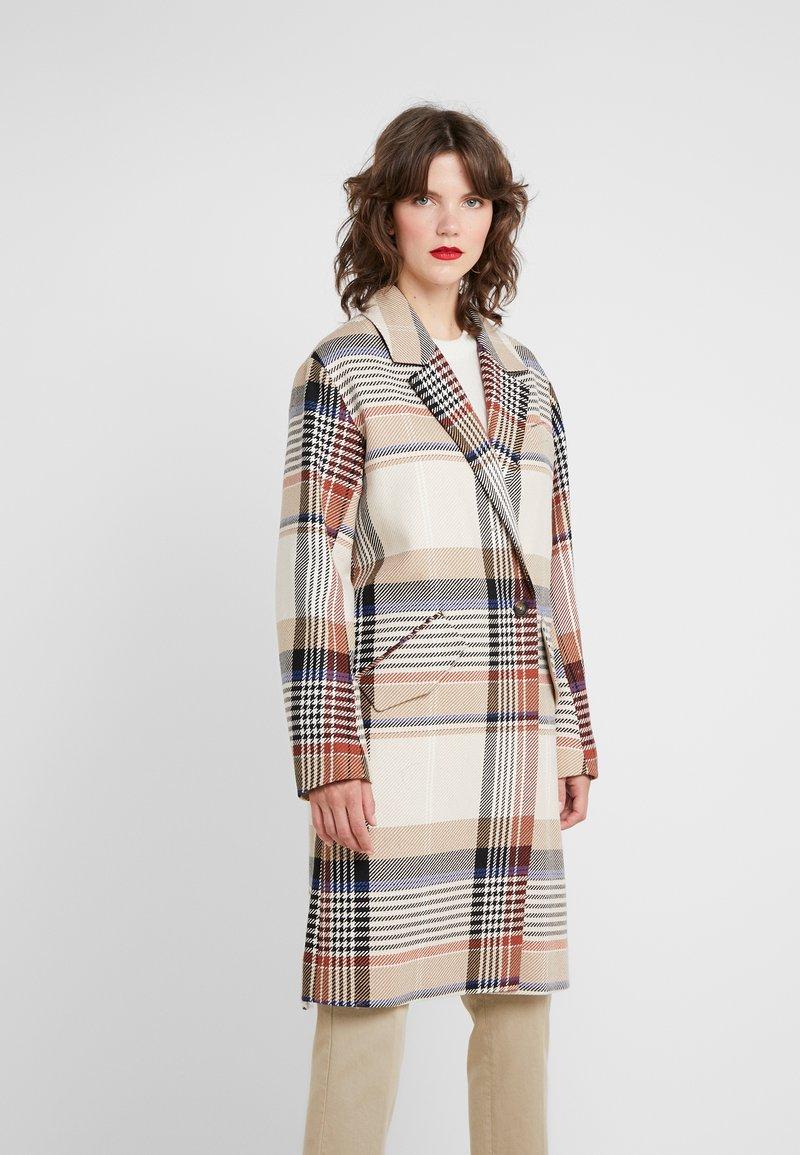 DESIGNERS REMIX - PENELOPE COAT - Płaszcz wełniany /Płaszcz klasyczny - multi colour