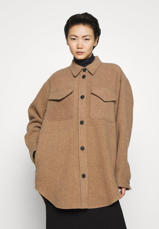 NELSON SHIRT COAT - Cappotto classico - camel