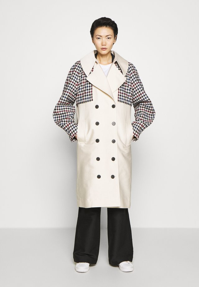 HAILEY - Trench - cream/multi
