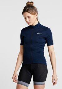 De Marchi - WOMENS CLASSICA  - T-Shirt print - navy - 0