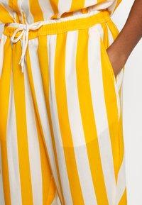Dedicated - PANTS SKAGEN  - Kalhoty - yellow - 4
