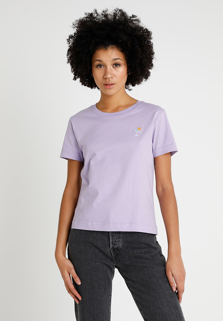 Dedicated - MYSEN COCKTAIL - T-shirts print - violet tulip