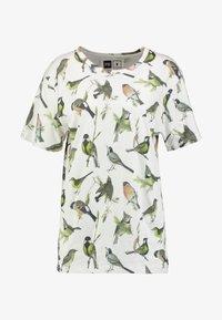 Dedicated - VISBY AUTUMN BIRDS - Print T-shirt - off-white - 3