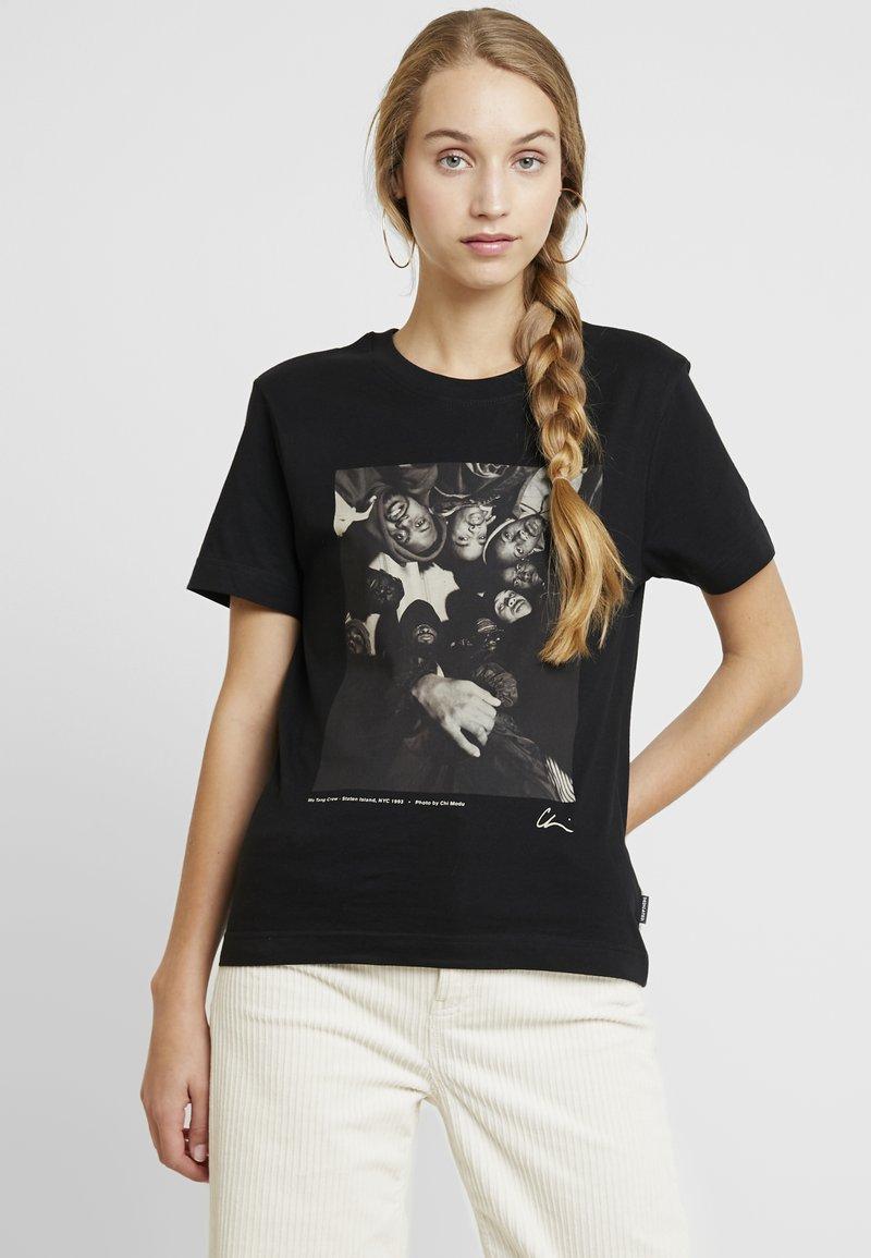 Dedicated - MYSEN WU-TANG CREW - Print T-shirt - black