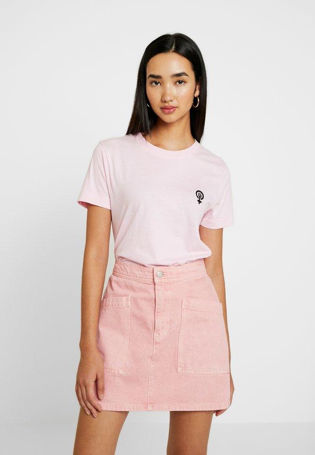 MYSEN VENUS - T-shirt print - sweet lilac