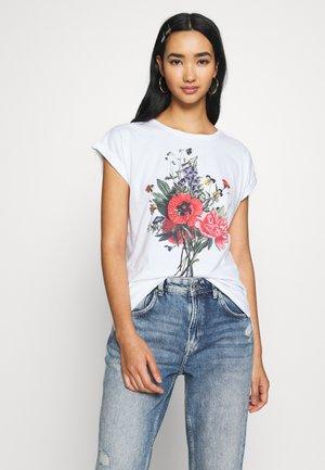 VISBY DO NO HARM - Print T-shirt - white