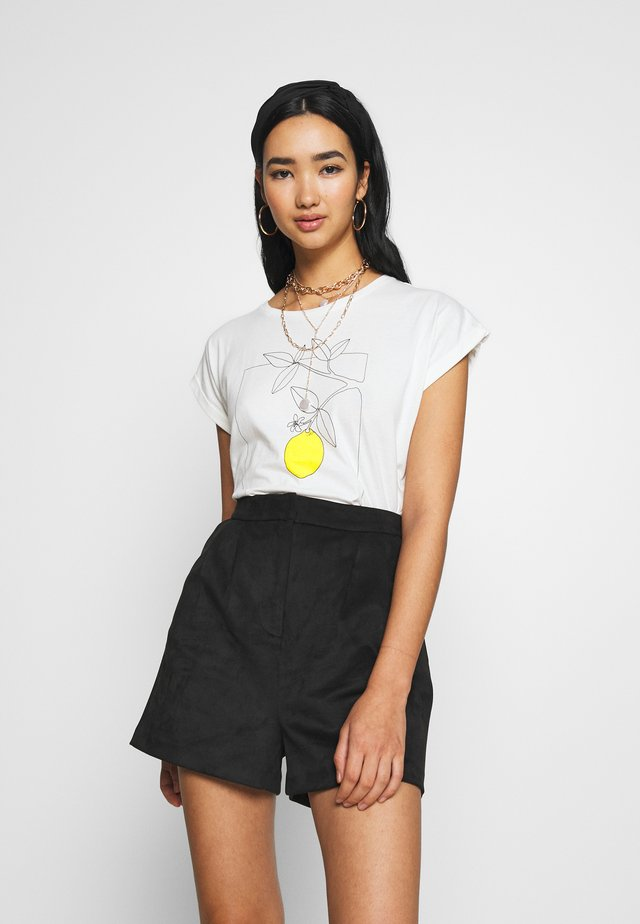 VISBY LEMON TREE - T-shirts med print - off-white