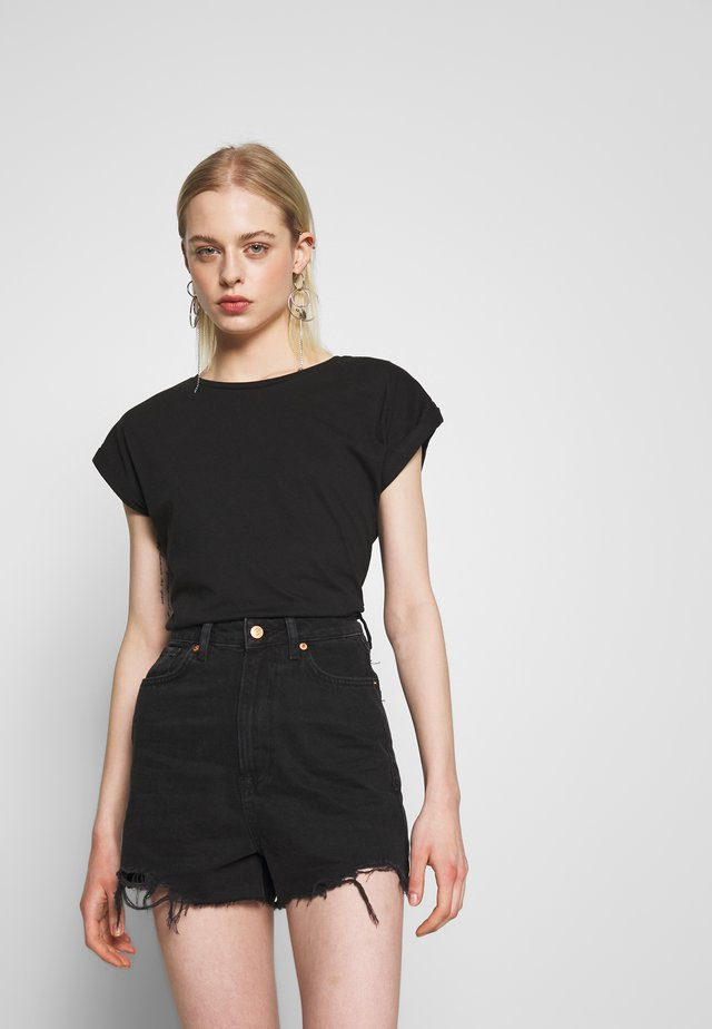 VISBY BASE - T-shirt basic - black