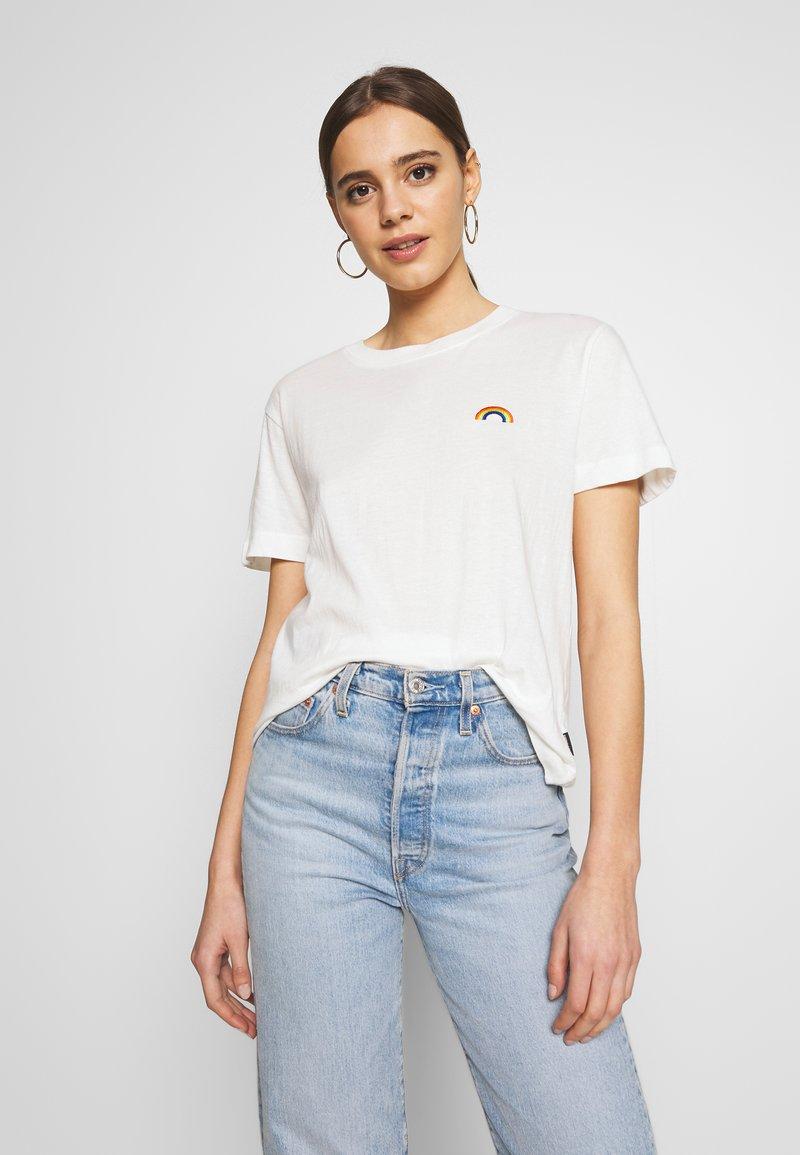 Dedicated - MYSEN RAINBOW - Print T-shirt - off-white
