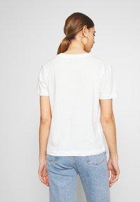 Dedicated - MYSEN RAINBOW - Print T-shirt - off-white - 2