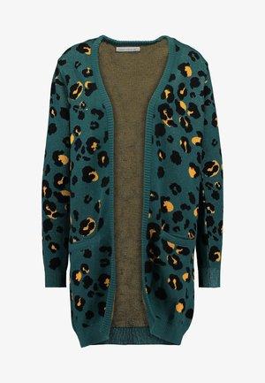 CARDIGAN IDRE LYNX - Vest - green