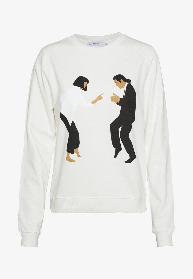 Dedicated - YSTAD PULP FICTION DANCE - Mikina - off-white