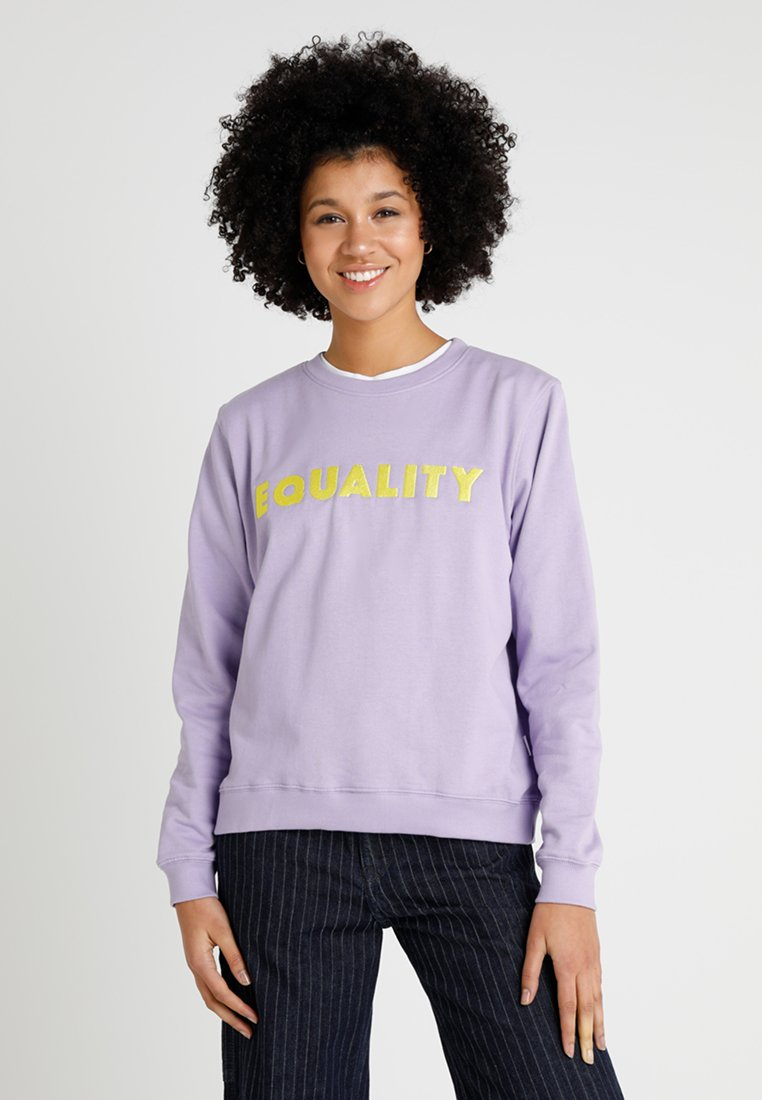 Dedicated - YSTAD EQUALITY - Sweatshirts - violet tulip