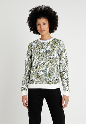 YSTAD BANANA LEAVES - Sudadera - off-white