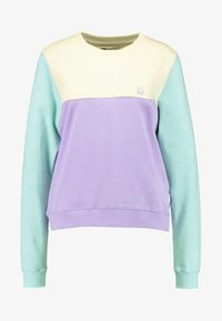 Dedicated - YSTAD SPLIT - Sudadera - pale yellow - 4