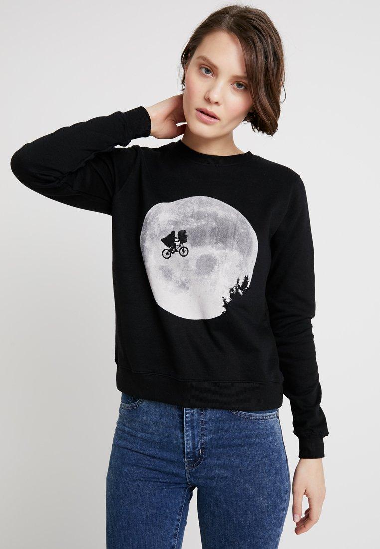 Dedicated - YSTAD ET MOON - Sweatshirts - black