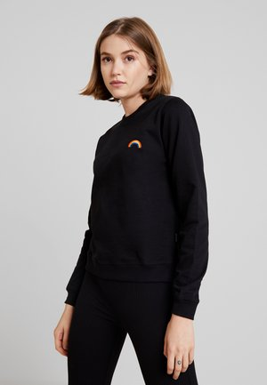 STAD RAINBOW - Sweatshirt - black